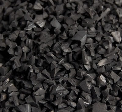 Black Recycled EPDM 1-4mm
