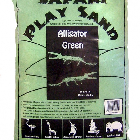 Safari Play Sand - Alligator Green