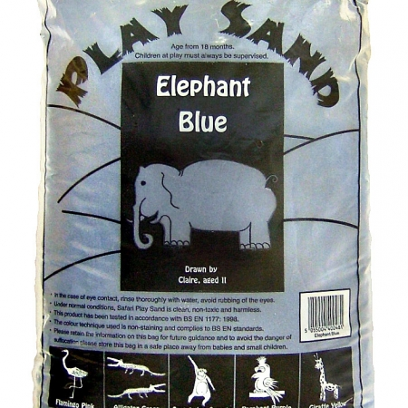 Safari Play Sand - Elephant Blue