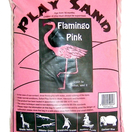 Safari Play Sand - Flamingo Pink