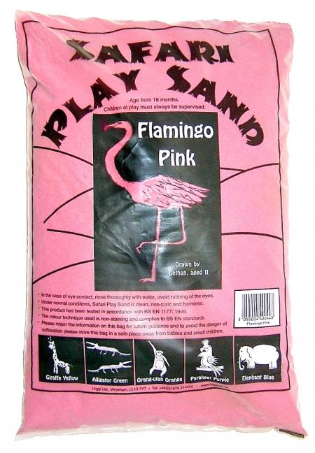 Safari Play Sand - Flamingo Pink