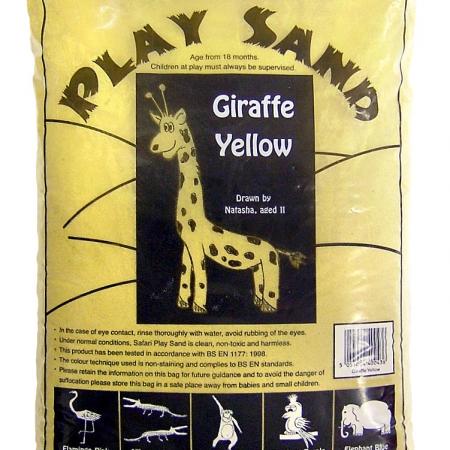 Safari Play Sand - Giraffe Yellow