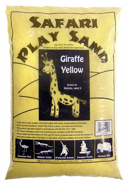 Safari Play Sand - Giraffe Yellow