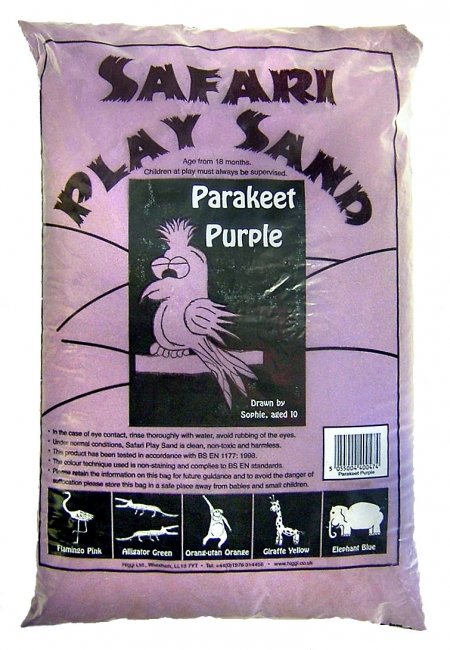Safari Play Sand - Parakeet Purple